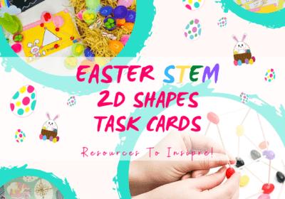 Free STEM Easter Maths Printable