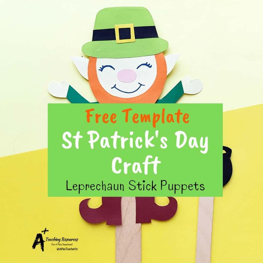 FREE Build A Leprechaun Activities Printable