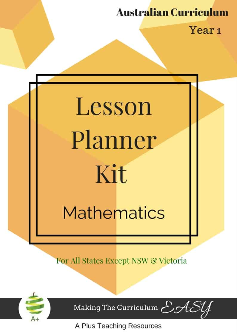 Year 1 Lesson Planner