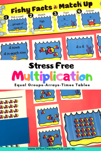Multiplication Activities Printables Product Image