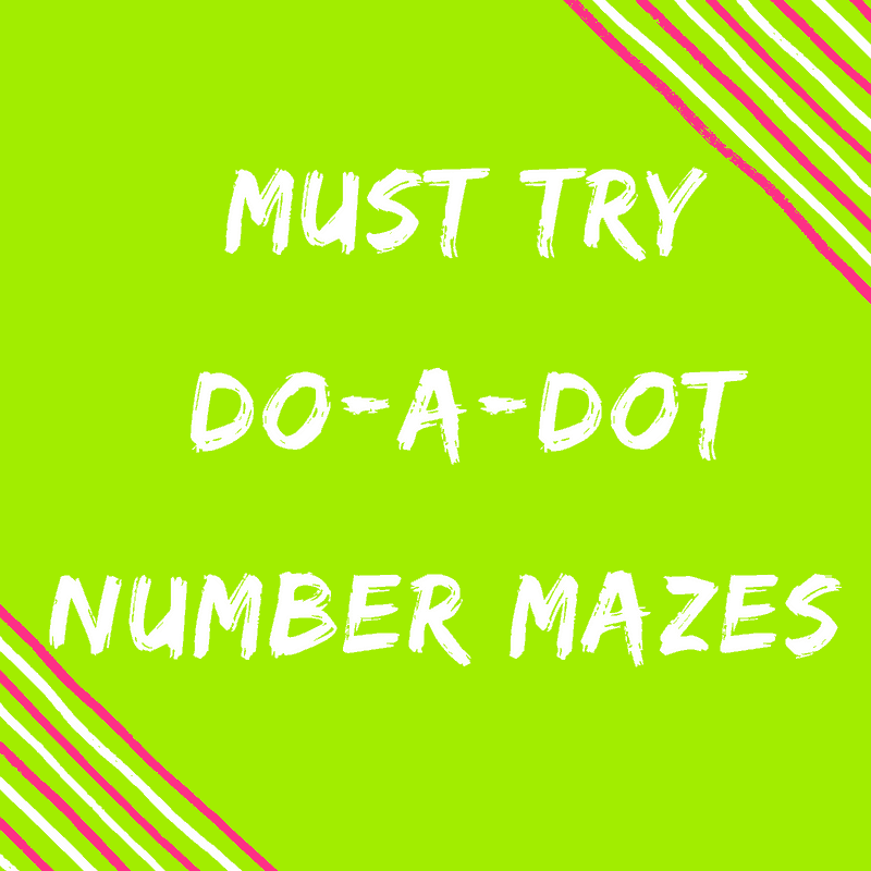 Number Recognition Printables That Will Make learning fun! {Do-a-Dot}