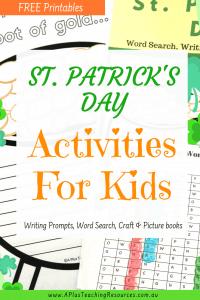 St Patricks Day Printables For Kids