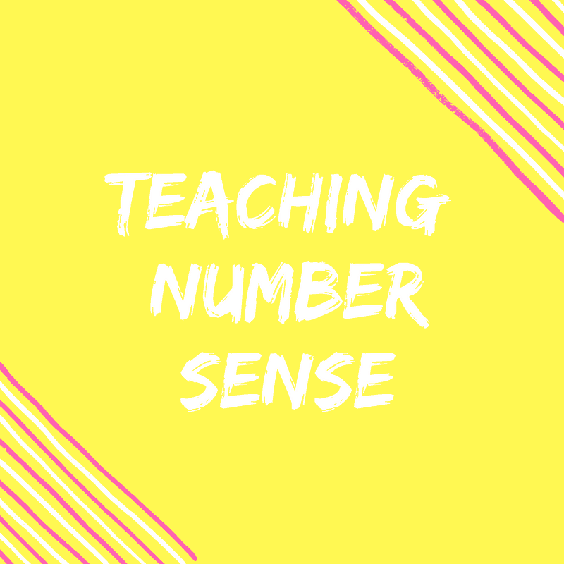 5 Proven Activities For Teaching Number Sense {Number of the Day}