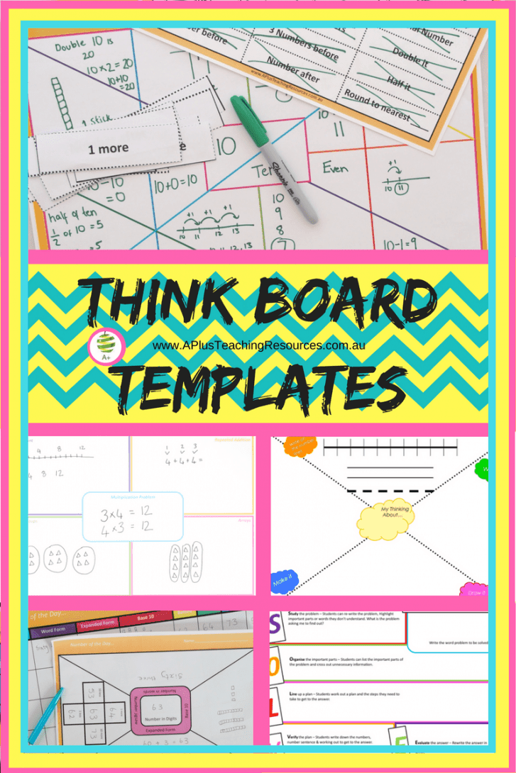 Think board template