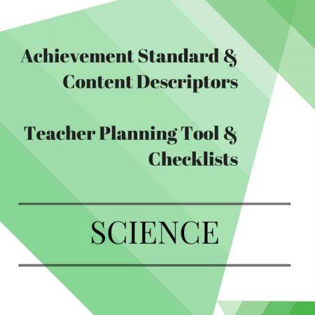 Y4 Editable Science Checklists
